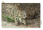 Bobcat Stalking Prey Carry-all Pouch