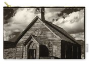 Bodie Church Sepia Carry-all Pouch