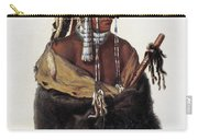 Bodmer: Young Mandan Carry-all Pouch