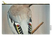 Bohemian Waxwing Study  Carry-all Pouch