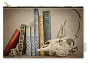 Bone Collector Library Carry-all Pouch by Heather Applegate