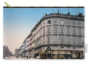 Bordeaux - France - Rue Chapeau Rouge From The Palace Richelieu Carry-all Pouch by International  Images