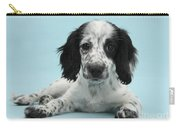 Border Collie X Cocker Spaniel Puppy Carry-all Pouch