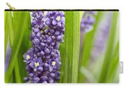 Border Grass Liriope Muscari Big Blue Carry-all Pouch