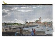 Boston: Charles River, 1789 Carry-all Pouch