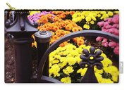 Boston Flowers Carry-all Pouch