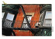 Boston House Fragment Carry-all Pouch by Elena Elisseeva