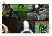 Boston Terrier Photo Collage Carry-all Pouch