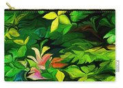 Botanical Fantasy 101712 Carry-all Pouch