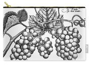 Botany: Grapes Carry-all Pouch by Granger