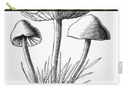 Botany: Mushroom Carry-all Pouch