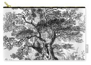 Botany: Oak Tree Carry-all Pouch