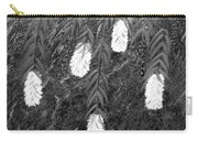 Bottlebrush Plant B W Carry-all Pouch