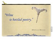 Bottled Poetry Carry-all Pouch