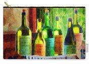 Bottles Of Wine Near Window Carry-all Pouch