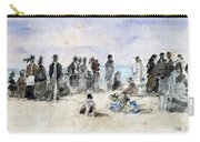 Boudin: Beach Scene, 1869 Carry-all Pouch