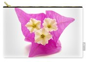 Bougainvillea Flower Carry-all Pouch