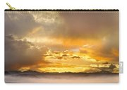 Boulder Colorado Flagstaff Fire Sunset View Carry-all Pouch
