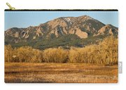 Boulder Colorado Flatiron View From Jay Rd Carry-all Pouch