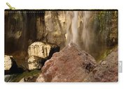 Boulders Under The Falls Carry-all Pouch