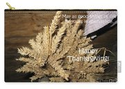Bounty. Thanksgiving Greeting Card Carry-all Pouch