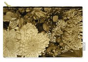 Bouquet In Sepia Carry-all Pouch