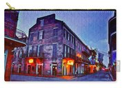 Bourbon Street In The Quiet Hours Carry-all Pouch