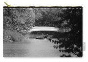 Bow Bridge In Black And White Carry-all Pouch