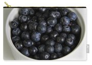Bowl Of Blueberries Carry-all Pouch