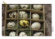 Box Of Quail Eggs Carry-all Pouch