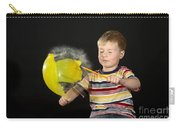 Boy Popping A Balloon Carry-all Pouch