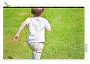 Boy Running Carry-all Pouch