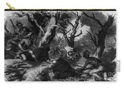 Braddocks Defeat, French And Indian Carry-all Pouch