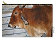 brahma Cow Carry-all Pouch