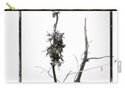 Branch Of Dried Out Flowers. Carry-all Pouch