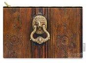 Brass Door Knocker Carry-all Pouch