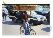 Bread On A Bicycle Carry-all Pouch