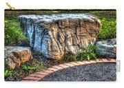 Brenda's Boulder At Dawn Or Altar In The Garden Carry-all Pouch