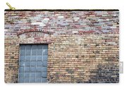 Brick Wall Window Carry-all Pouch