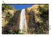 Bridal Veil Falls At Yosemite Carry-all Pouch