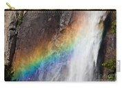 Bridalveil Fall Rainbow Carry-all Pouch