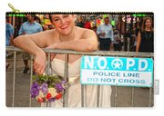 Bride And The Barricade On Bourbon Street Carry-all Pouch