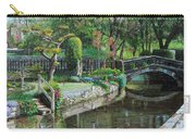 Bridge And Garden - Bakewell - Derbyshire Carry-all Pouch