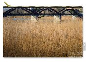 Bridge And Pampas Grass Carry-all Pouch