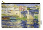 Bridge At Chatou Carry-all Pouch