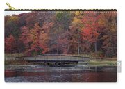 Bridge In Autumn Carry-all Pouch