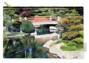 Bridge In Japanese Garden Carry-all Pouch