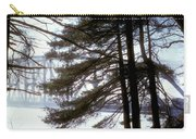 Bridge In The Fog 2 Carry-all Pouch