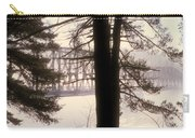 Bridge In The Fog Carry-all Pouch
