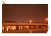 Bridge In The Mist Carry-all Pouch